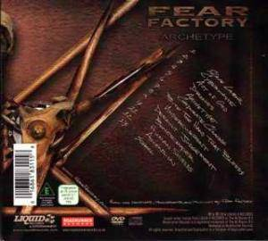 Fear Factory: Archetype (CD + DVD) - Bild 2