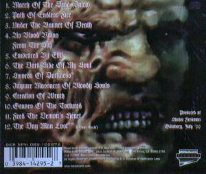 Fleshcrawl: As Blood Rains From The Sky... We Walk The Path Of Endless Fire (CD) - Bild 2