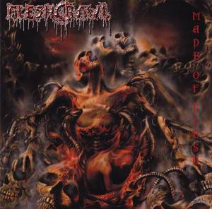 Fleshcrawl: Made Of Flesh (CD) - Bild 1
