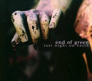 End Of Green: Last Night On Earth - Cover