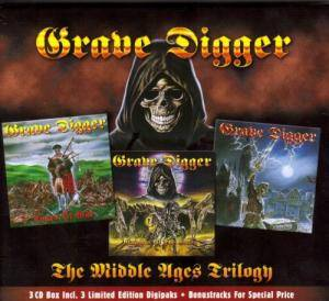 Grave Digger: The Middle Ages Trilogy (3-CD) - Bild 1