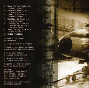 Masterplan: Back For My Life (Mini-CD / EP) - Bild 2