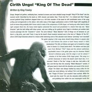 Cirith Ungol: King Of The Dead (CD) - Bild 7