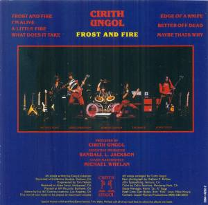 Cirith Ungol: Frost And Fire (CD) - Bild 6