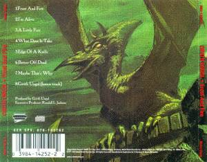 Cirith Ungol: Frost And Fire (CD) - Bild 8