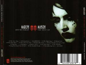 Marilyn Manson: Lest We Forget - The Best Of (CD) - Bild 2