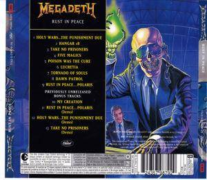 Megadeth: Rust In Peace (CD) - Bild 2