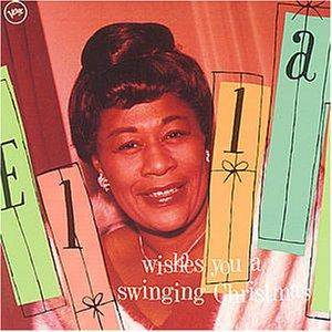 Ella Fitzgerald: Ella Wishes You A Swinging Christmas - Cover