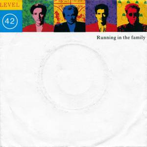 Level 42: Running In The Family - Cover
