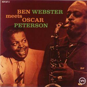 Ben Webster & Oscar Peterson: Ben Webster Meets Oscar Peterson - Cover
