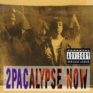 2Pac: 2Pacalypse Now - Cover