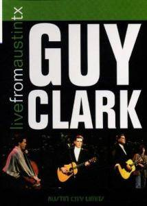 Guy Clark: Live From Austin TX - Cover