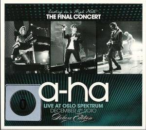 a-ha: Ending On A High Note - The Final Concert - Cover