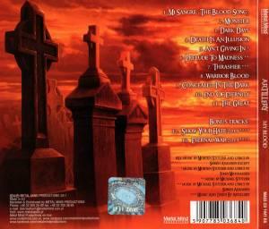 Artillery: My Blood (CD) - Bild 2