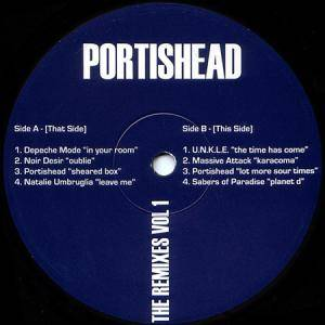 Cover - Sabres Of Paradise, The: Portishead - The Remixes Vol. 1