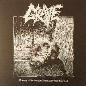 Grave: Necropsy - The Complete Demo Recordings 1986-1991 - Cover