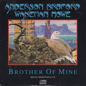Anderson Bruford Wakeman Howe: Brother Of Mine - Cover