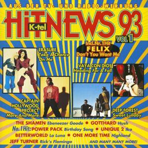 Cover - Heavy's, The: K-Tel Hit News 93 Vol. 1