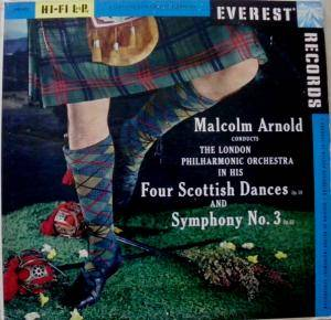 Cover - Malcolm Arnold: Four Scottish Dances Op.59 And Symphony No.3 Op.63