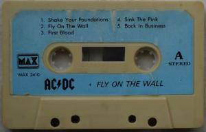 AC/DC: Fly On The Wall (Tape) - Bild 3