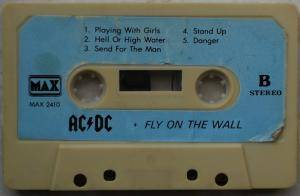 AC/DC: Fly On The Wall (Tape) - Bild 4