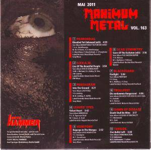 Metal Hammer - Maximum Metal Vol. 163 (CD) - Bild 2