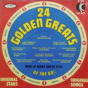 Cover - Tim Rose: 24 Golden Greats Of The 60's
