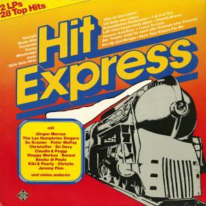 Cover - Eddie Constantine: Hit-Express - 28 Top Hits