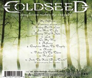 Coldseed: Completion Makes The Tragedy (CD) - Bild 2