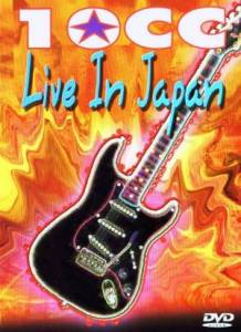 10cc: Live In Japan - Cover