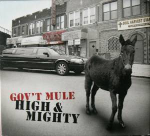 Cover - Gov't Mule: High & Mighty