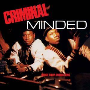 Boogie Down Productions: Criminal Minded - Cover