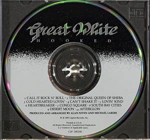 Great White: Hooked (CD) - Bild 3