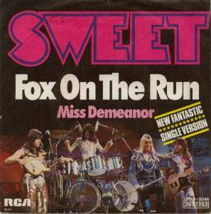 The Sweet: Fox On The Run - Cover