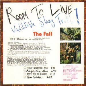Cover - Fall, The: Room To Live