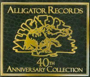 Alligator Records - 40th Anniversary Collection - Cover
