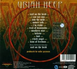 Uriah Heep: Into The Wild (CD) - Bild 2