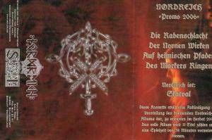 Nordreich: Promo 2006 - Cover
