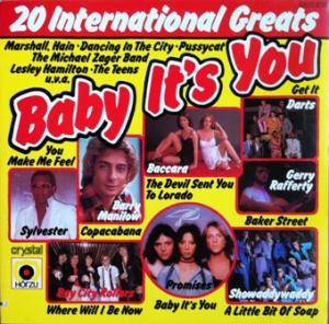 Cover - Lesley Hamilton: 20 International Greats - Baby It's You