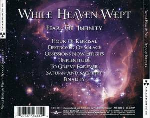 While Heaven Wept: Fear Of Infinity (CD) - Bild 2
