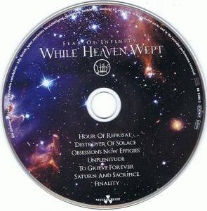 While Heaven Wept: Fear Of Infinity (CD) - Bild 3