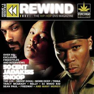 Rewind The Hip-Hop DVD Magazine Issue 1 - Cover