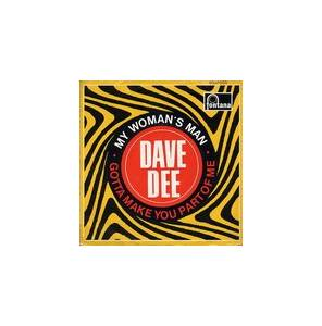 Cover - Dave Dee: My Woman's Man