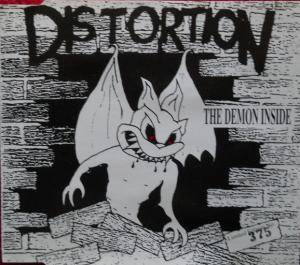 Cover - Distortion: Demon Inside, The