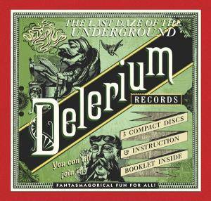 Cover - Kava Kava: Last Daze Of The Underground - The Delerium Records Anthology, The