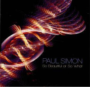Paul Simon: So Beautiful Or So What - Cover