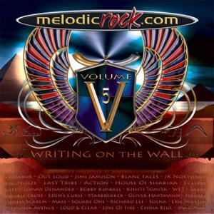 Cover - Various Artists/Sampler: Melodicrock.Com - Volume 5: Writing On The Wall