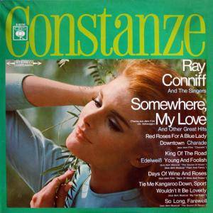 Cover - Ray Conniff Singers: Somewhere, My Love