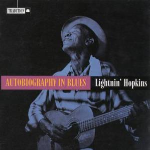 Cover - Lightnin' Hopkins: Autobiography In Blues