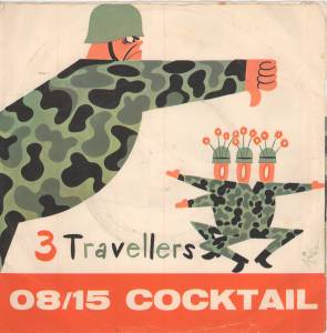 Cover - 3 Travellers, Die: 08/15 Coctail